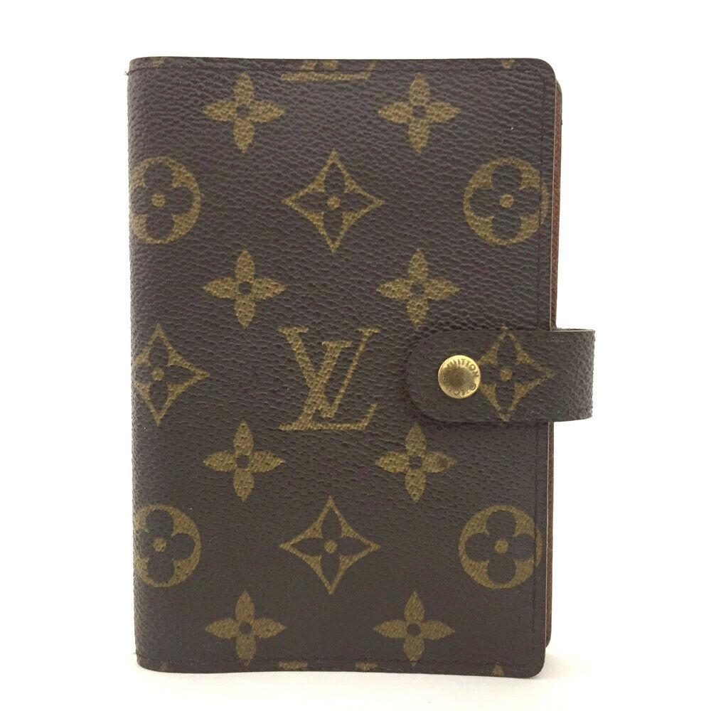 Louis Vuitton Monogram Agenda PM Notebook Cover.