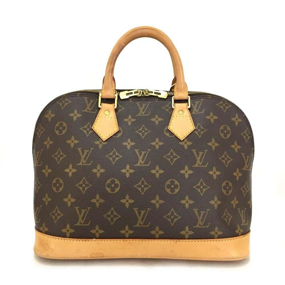 Louis Vuitton Monogram Alma PM Hand Bag.