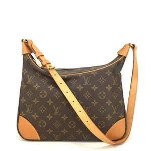 Louis Vuitton Monogram Boulogne 30 Crossbody Bag - Luxury Cheaper