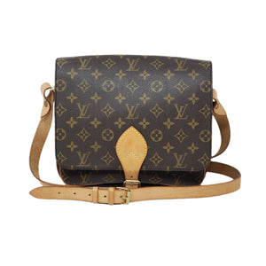 LOUIS VUITTON MONOGRAM CARTOUCHIERE GM CROSSBODY - Luxury Cheaper