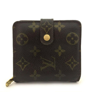 Louis Vuitton Monogram Compact Zip Bifold Wallet.