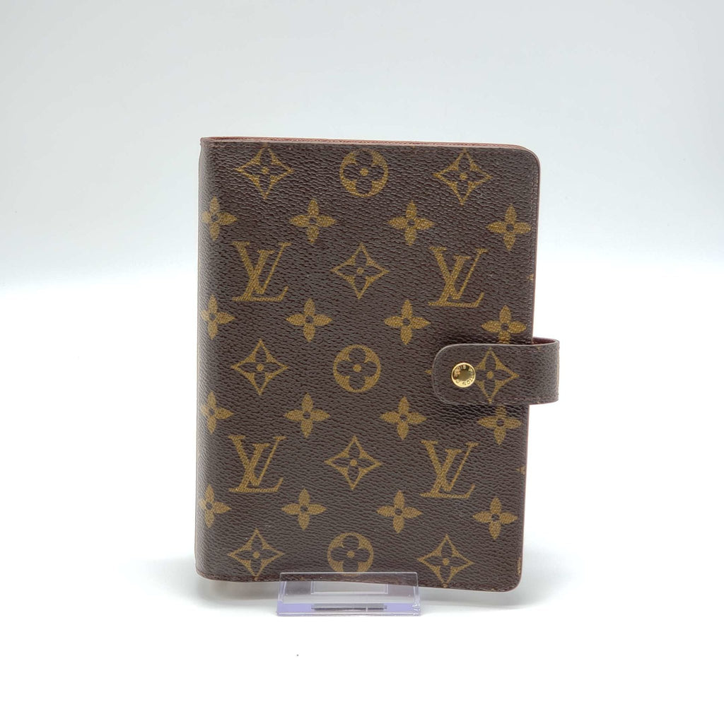 Louis Vuitton Monogram Diary Cover Agenda MM - Luxury Cheaper