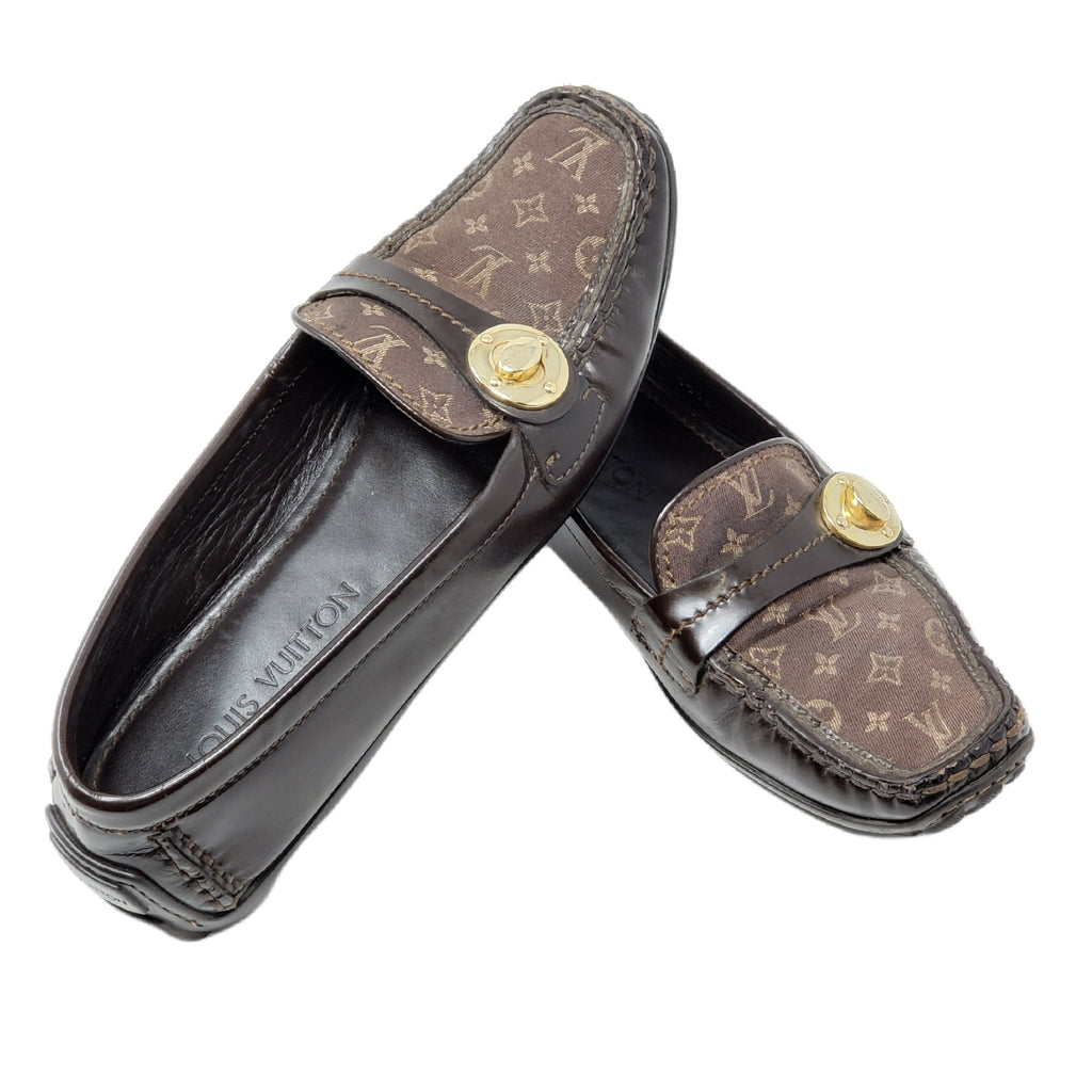 Louis Vuitton Monogram Flat Shoes - Luxury Cheaper