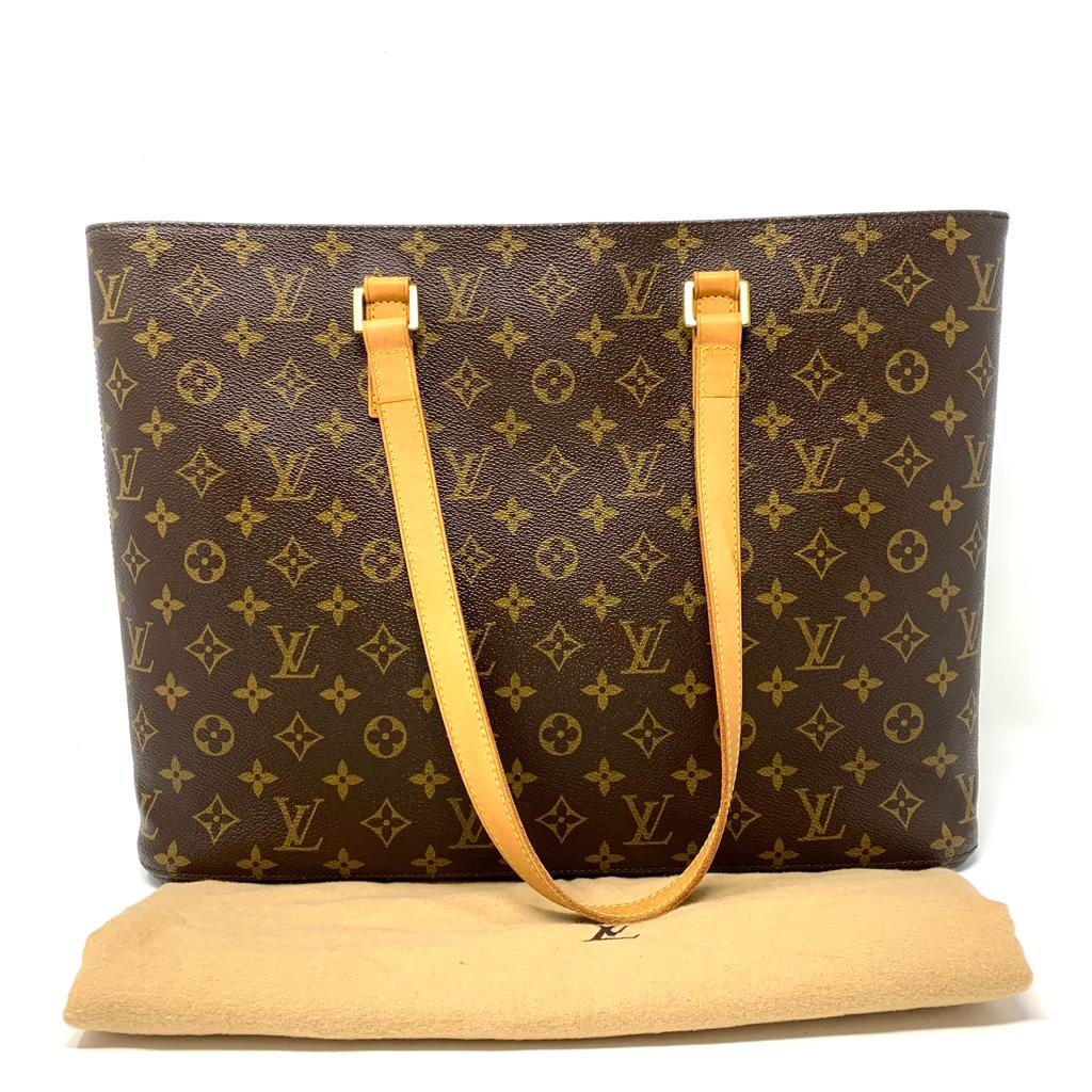 Louis Vuitton Monogram Luco Tote/Office/Laptop Bag - Luxury Cheaper
