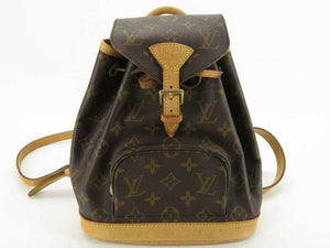 LOUIS VUITTON  MONOGRAM MINI MONTSOURIS BACKPACK.