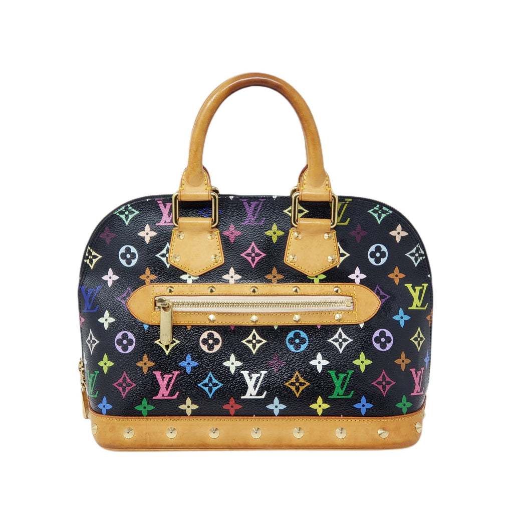Louis Vuitton Monogram Multicolor Alma PM Hand Bag - Luxury Cheaper