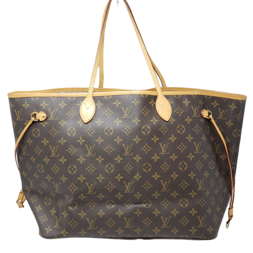 LOUIS VUITTON MONOGRAM NEVERFULL GM TOTE BAG - Luxury Cheaper