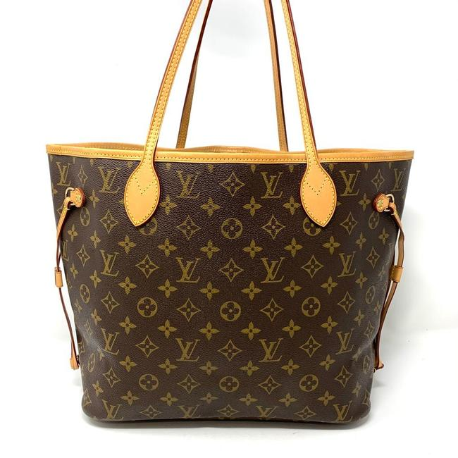 Louis Vuitton Monogram Neverfull MM Tote Bag.