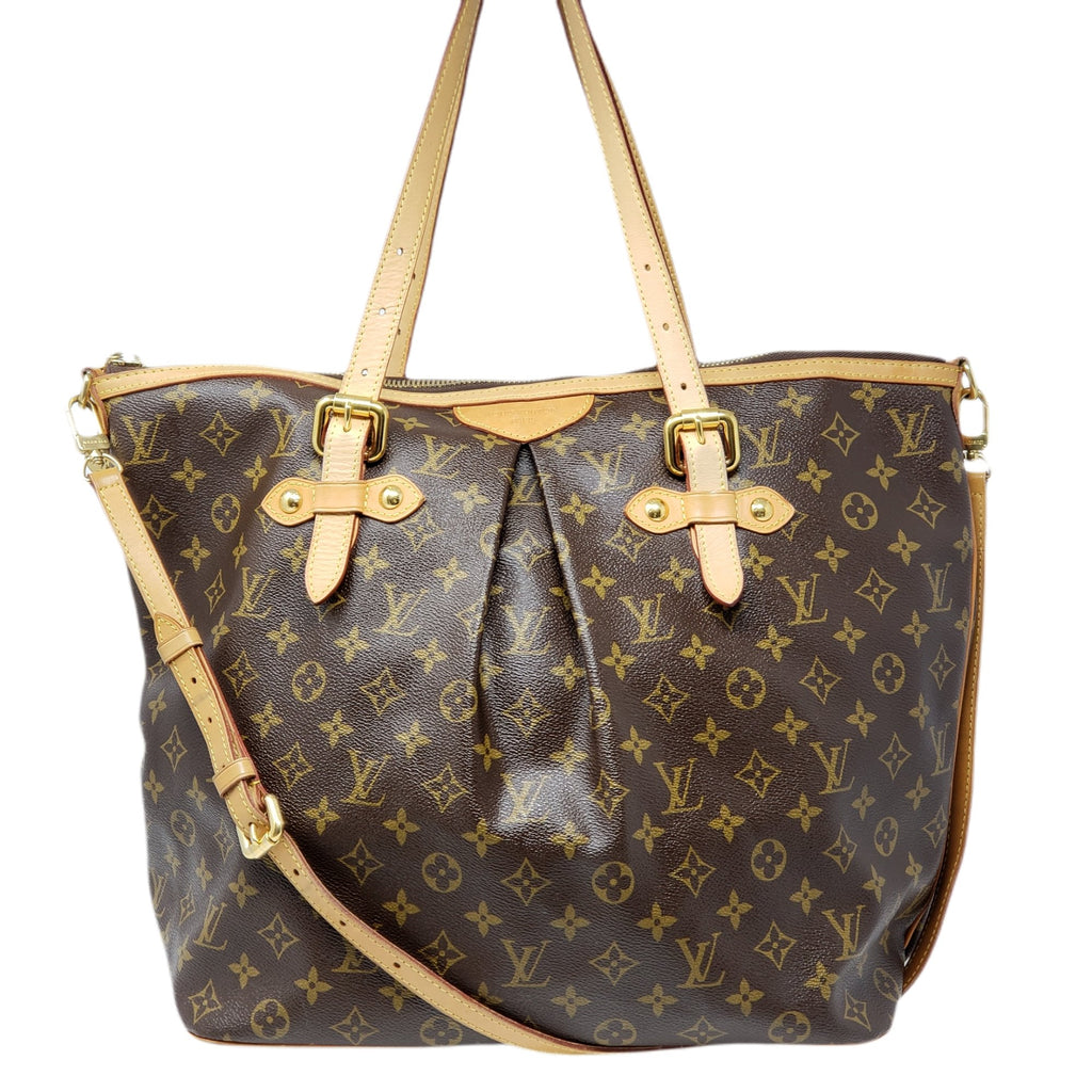 Louis Vuitton Monogram Palermo GM Tote Bag.