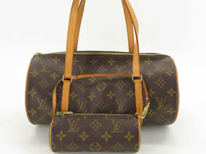 LOUIS VUITTON MONOGRAM PAPILLON 30 BAG w/POUCH - Luxury Cheaper