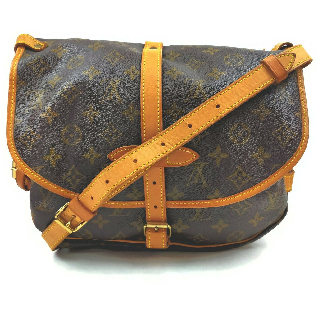 Louis Vuitton Monogram Saumur 30 Crossbody.