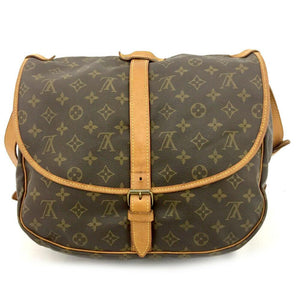 Louis Vuitton Monogram Saumur 35  Crossbody Bag.