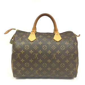 Louis Vuitton Monogram Speedy 30 Boston Hand Bag - Luxury Cheaper