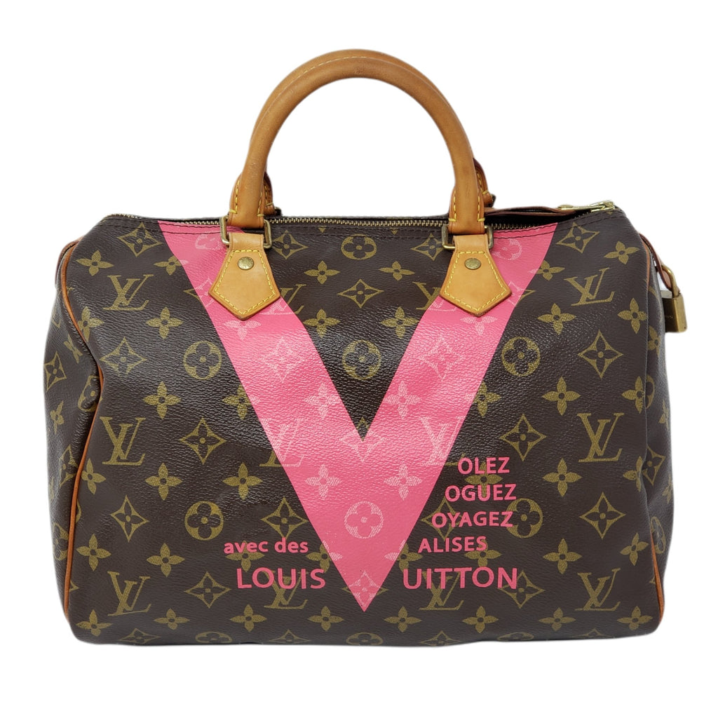 LOUIS VUITTON MONOGRAM SPEEDY 30 Limited HAND BAG.
