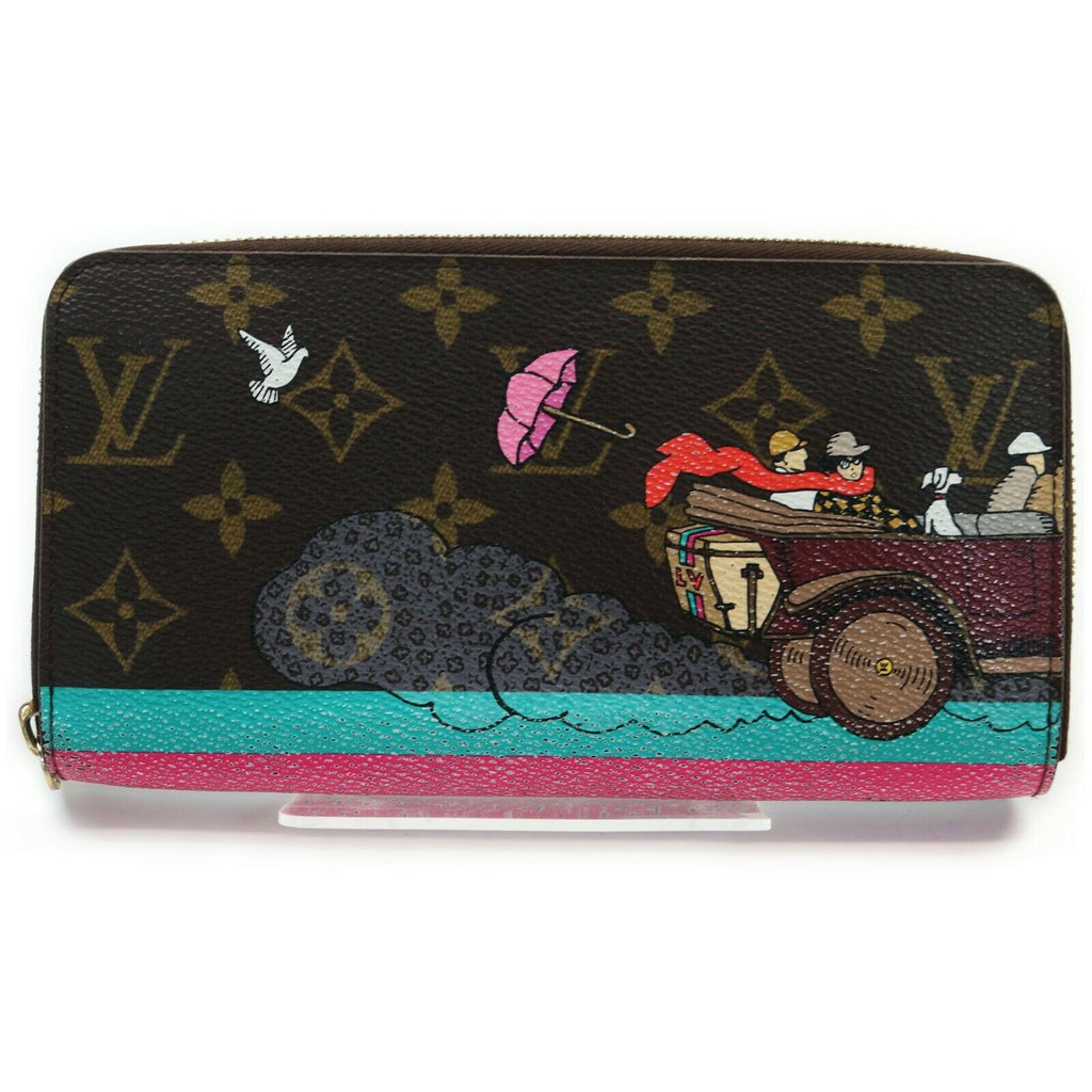 Louis Vuitton Monogram Zippy Limited Edition Wallet - Luxury Cheaper