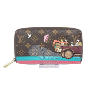 Louis Vuitton Monogram Zippy Limited Edition Wallet.