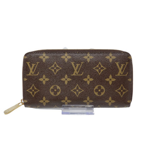 Louis Vuitton Monogram Zippy Zip Wallet.