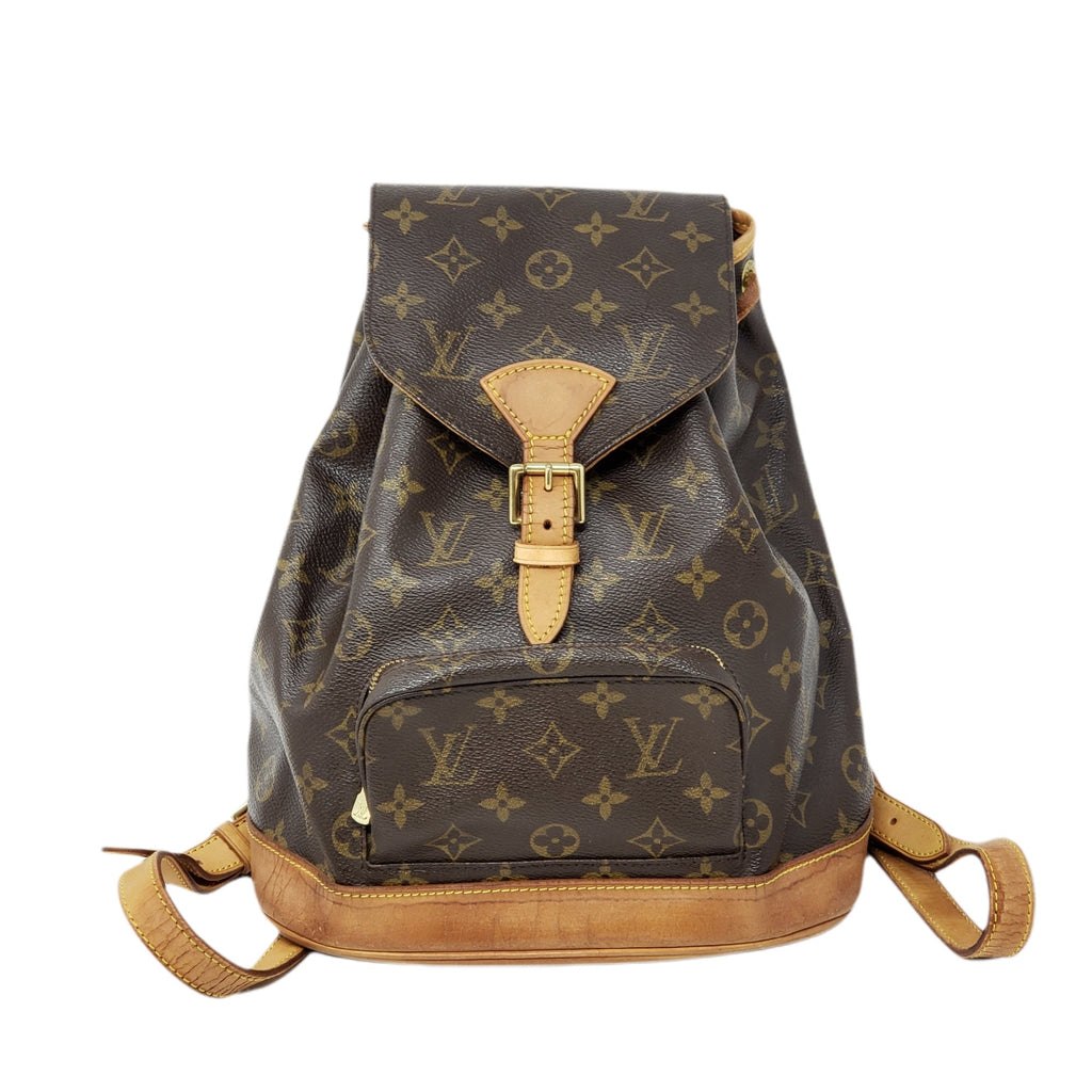Louis Vuitton  Montsouris MM Backpack Bag.