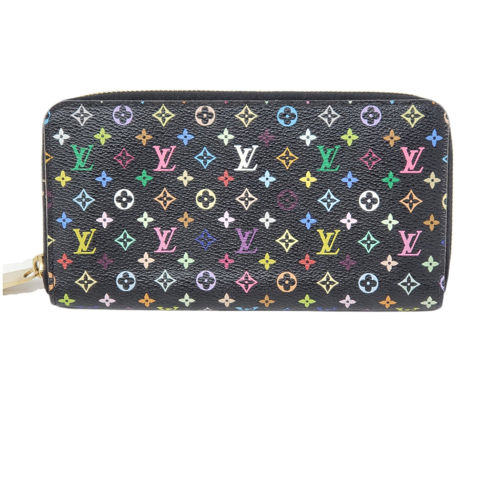 Louis Vuitton Multicolor Zippy Wallet.