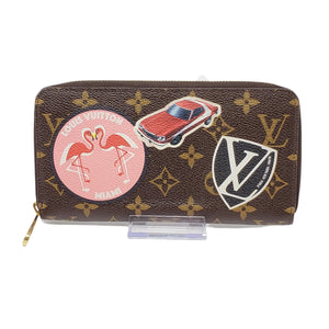 Louis Vuitton MY LV World Tour Zippy Wallet.