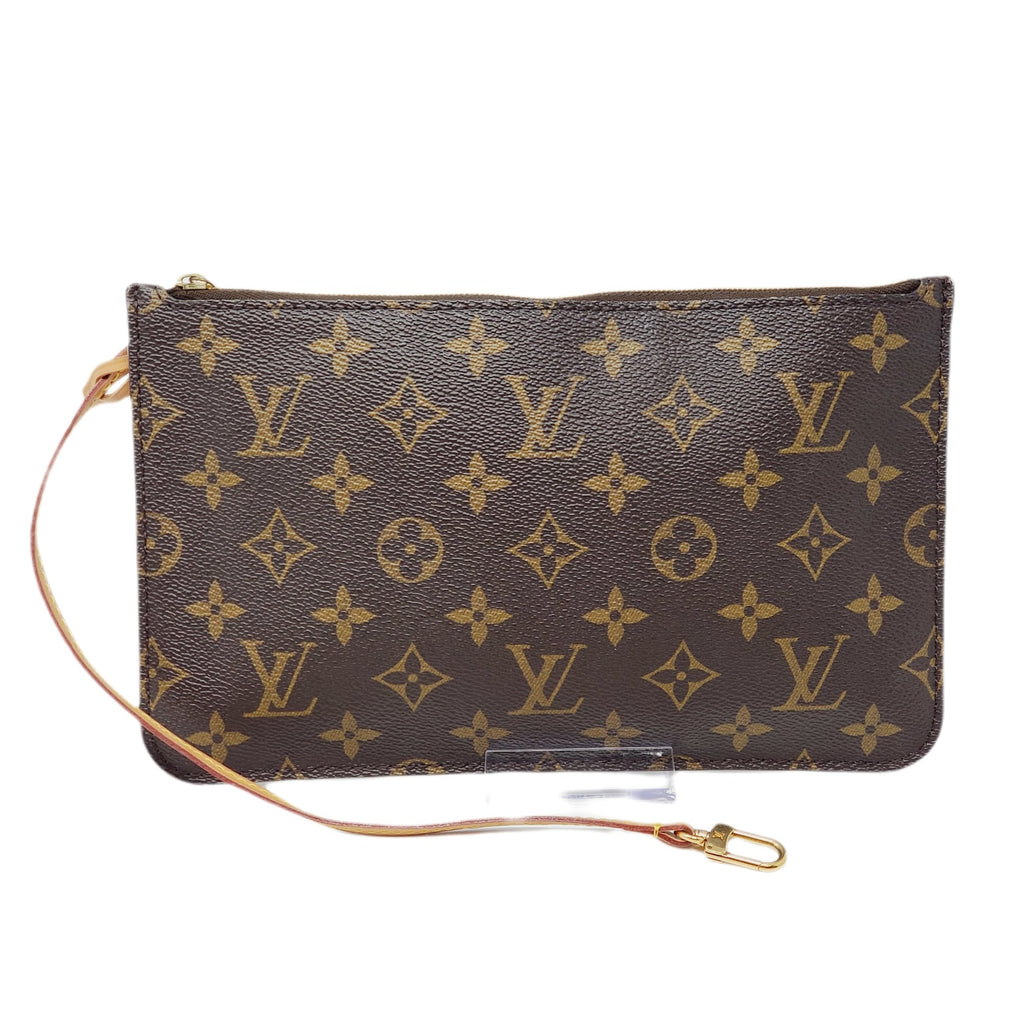 Louis Vuitton Pouch/Wristlet/ Clutch Monogram Bag.