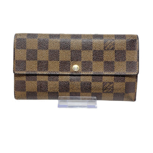 Louis Vuitton Sarah Bifold Damier Ebene Wallet - Luxury Cheaper