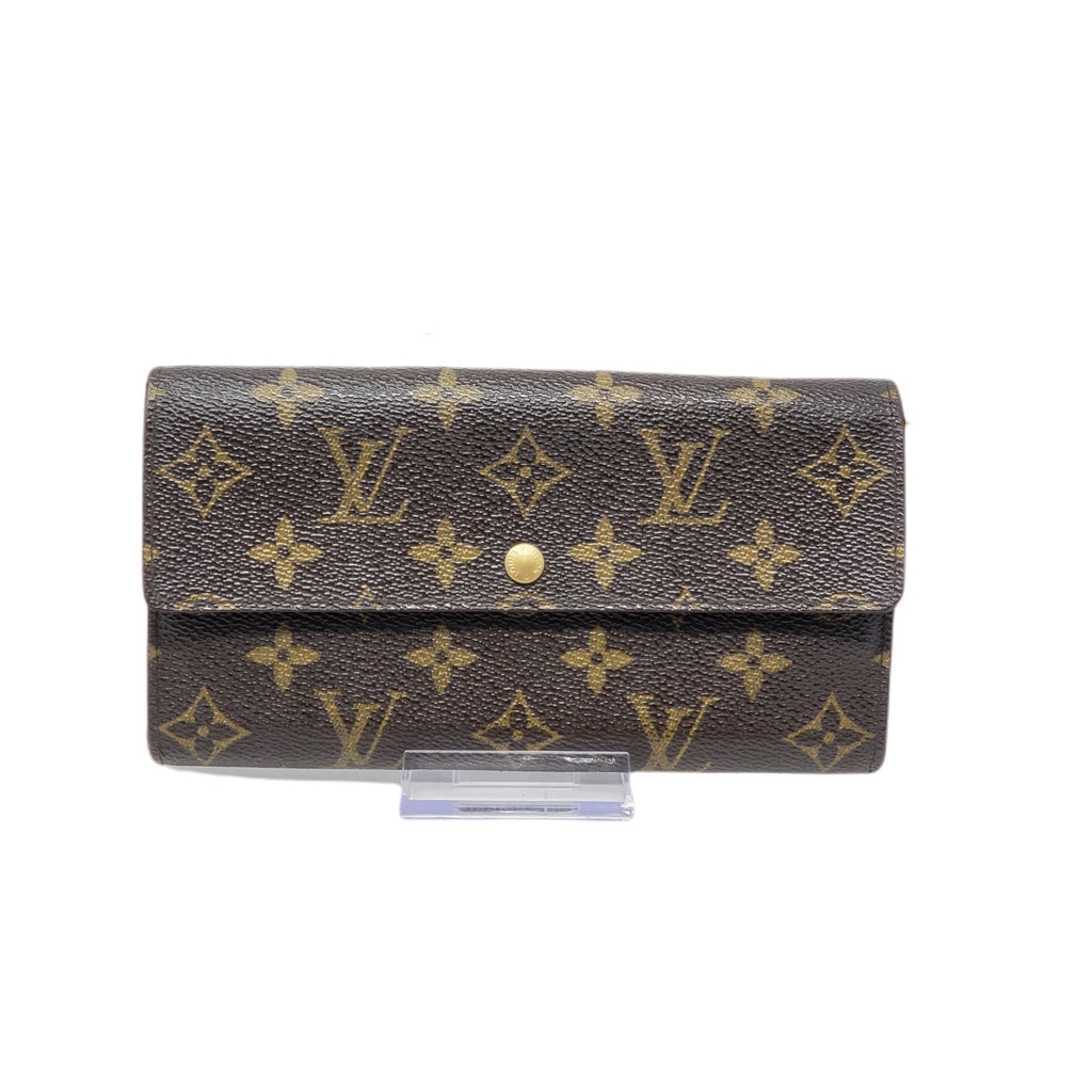 Louis Vuitton Sarah Bifold Monogram Wallet - Luxury Cheaper