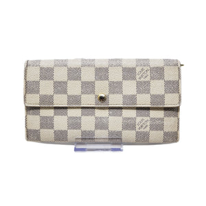 Louis Vuitton Sarah Damier Azur Bifold Wallet - Luxury Cheaper