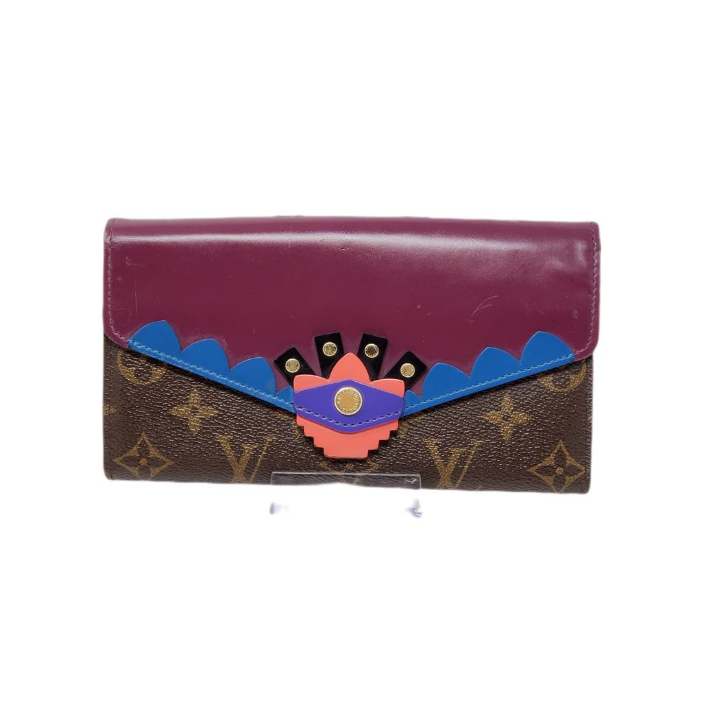 Louis Vuitton Sarah Limited Edition Bifold Wallet.
