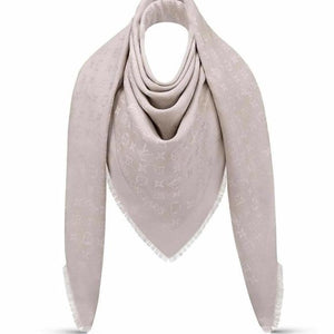 Louis Vuitton Shine Shawl Gray New - Luxury Cheaper