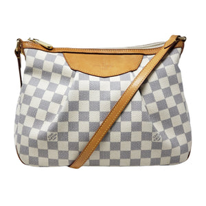Louis Vuitton Siracusa PM Damier Azur Crossbody.