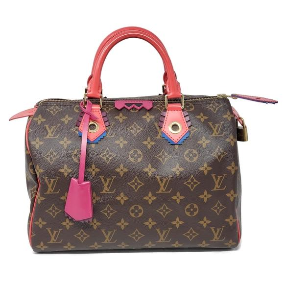 Louis Vuitton Speedy 30 Limited Edition Hand Bag.