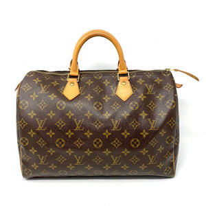 Louis Vuitton Speedy 35 Monogram Boston Hand Bag - Luxury Cheaper