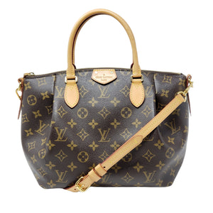 LOUIS VUITTON TURRENE PM MONOGRAM CROSSBODY BAG - Luxury Cheaper