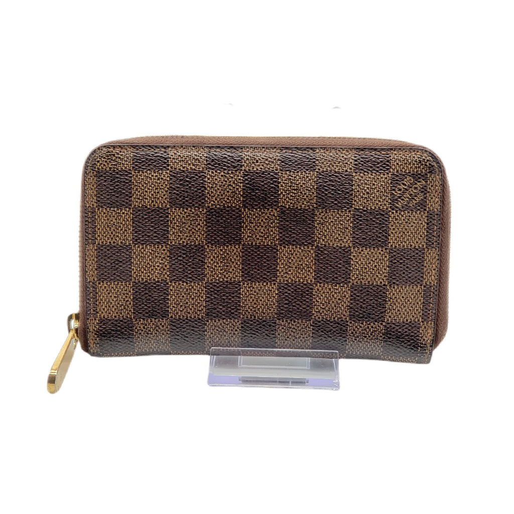 Louis Vuitton Zippy Compact Damier Ebene Wallet - Luxury Cheaper