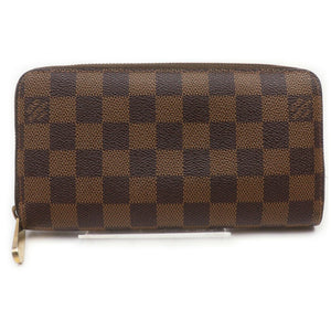 Louis Vuitton Zippy  Damier Ebene Wallet.