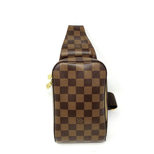 LOUIS VUTTON DAMIER EBENE GERONIMOS WAIST BUM BAG - Luxury Cheaper