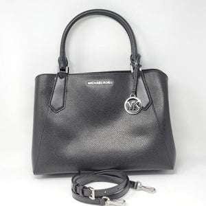 Michael Kors Leather Satchel Bag.