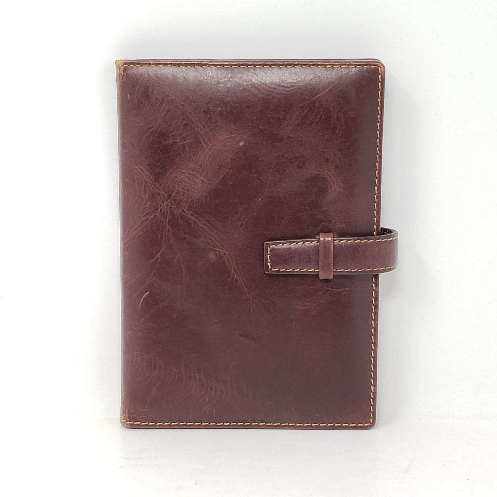 Notebook Medium Leather Cover Case.