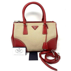 Prada Galleria Cross body Hand Bag.