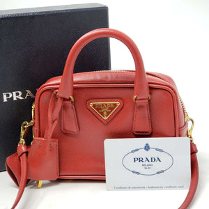 Prada Super Mini Promenade Crossbody Bag.