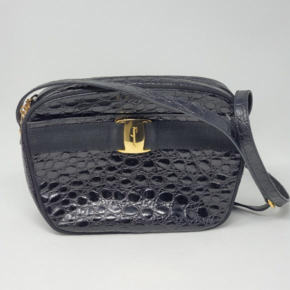 Salvatore Ferragamo Crossbody Bag.