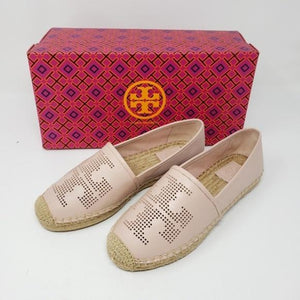 Tory Burch Leather Espadrille Shoes Brand New.