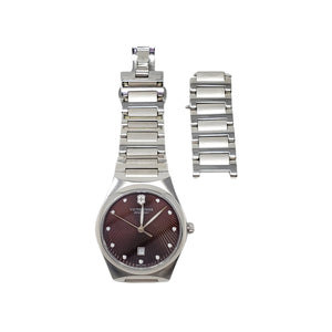 Victorinox Swiss Army Watch Women Silver.