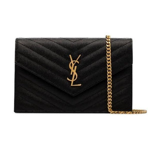 YSL Wallet on Chain Large Envelope Brand New.