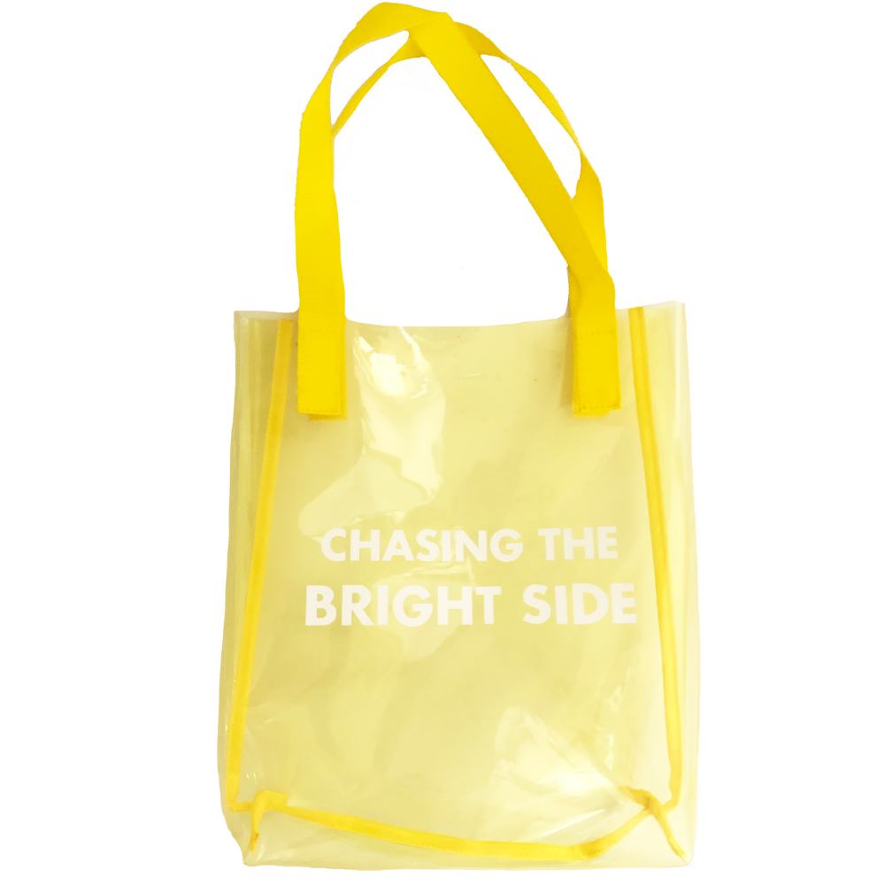 Chasing The Bright Side Tinted Yellow Bag