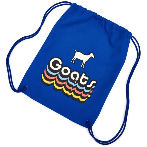 Goats Weatherproof Drawstring Backpack