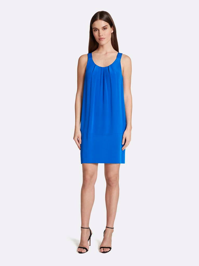 U-Neck Shift Dress