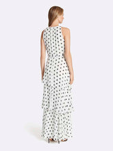 Load image into Gallery viewer, Plus Polka Dot Pleated Gown