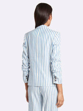 Load image into Gallery viewer, Striped Linen Jacket